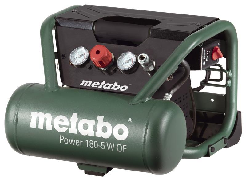 Bezolejový kompresor Power 180-5 W OF 1100W 601531000 METABO